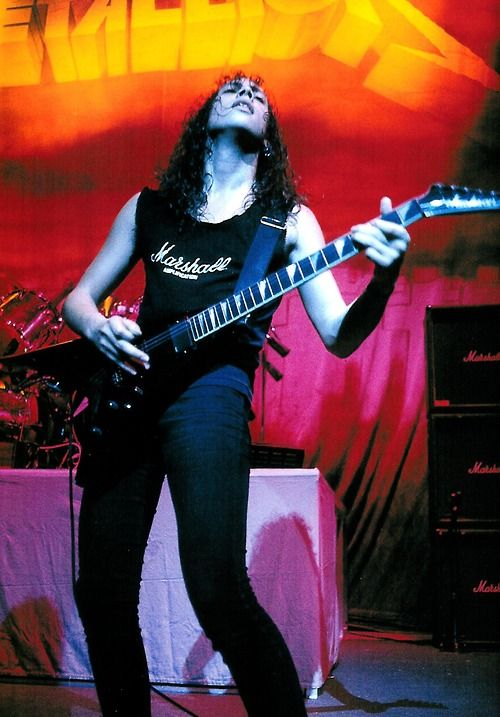 Kirk Hammett, Damage, Inc. Tour, 1986