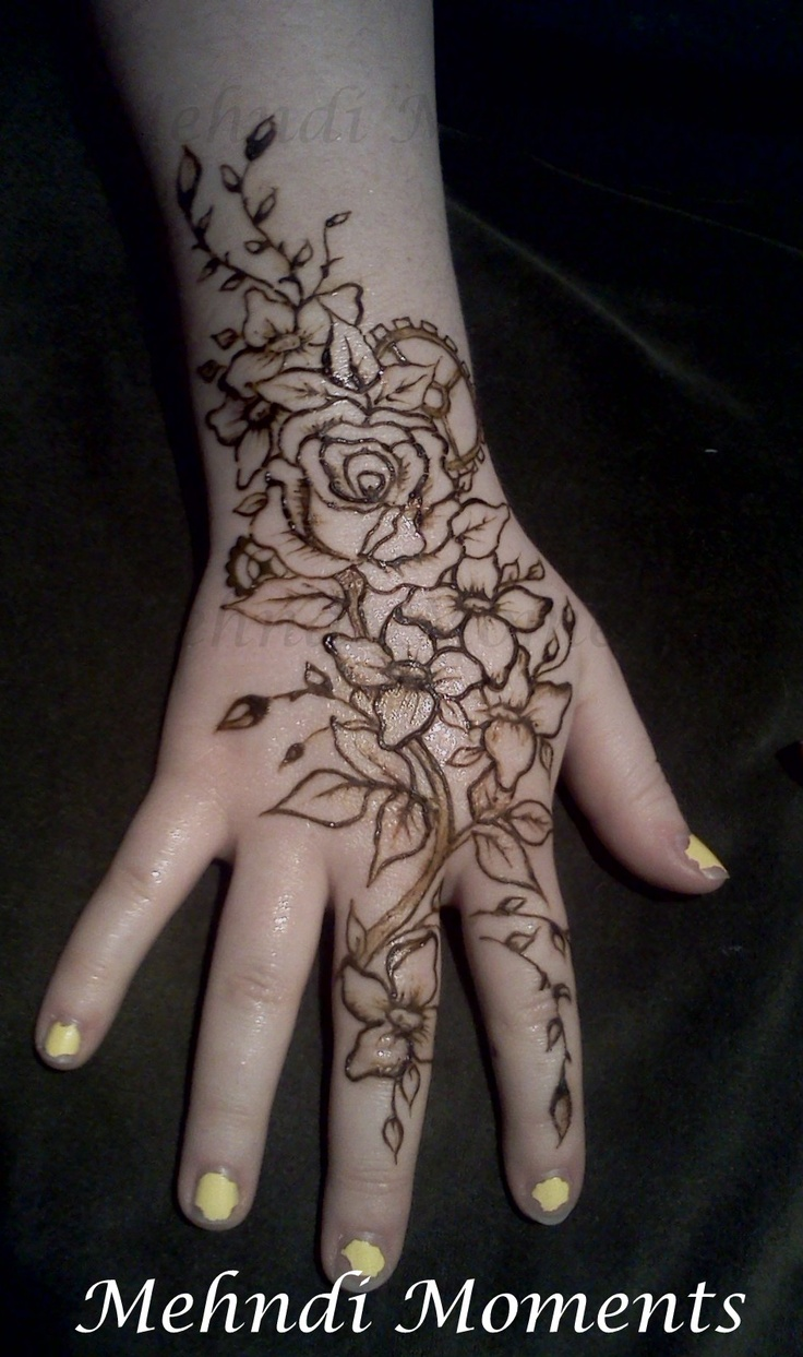 Steampunk henna