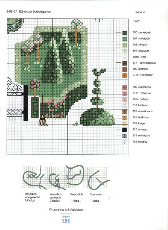 17 best images about borduren jardin prive on pinterest for Jardin prive