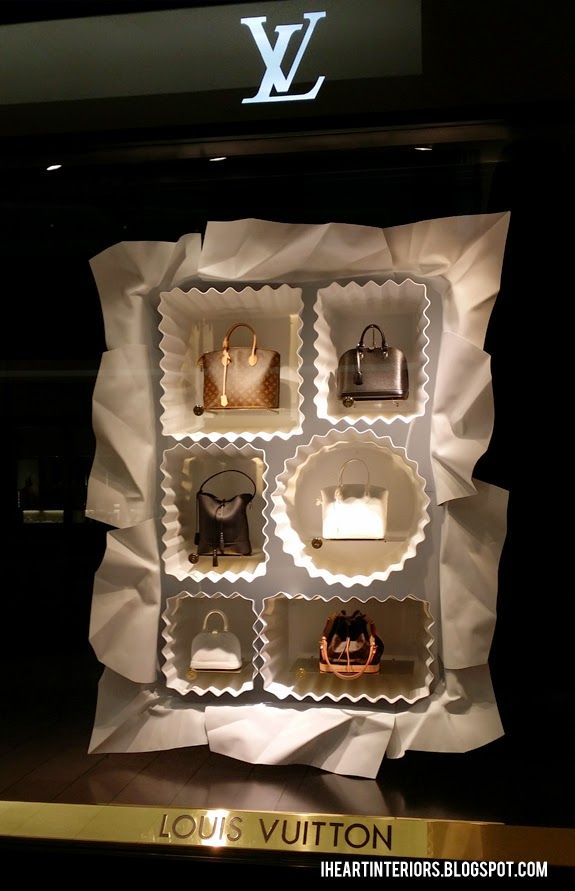i heart interiors: Louis Vuitton Window Display :: Box of Chocolates