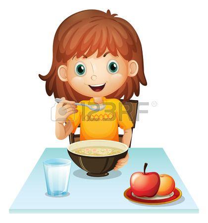 niñas desayunando animadas - Buscar con Google