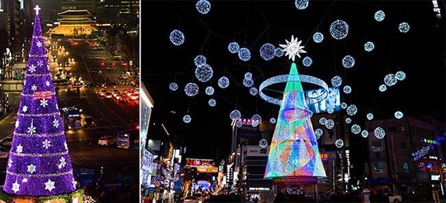 Christmas Trees in Seoul & Busan!   Official Korea Tourism Organization