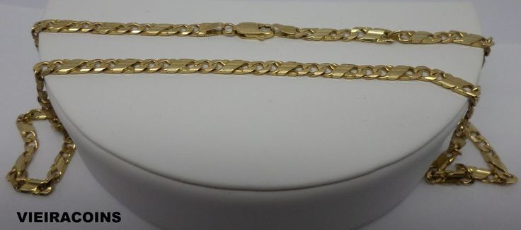 Men's 14KT   ITALIAN  GOLD  CHAIN - 20 inches long  with 22.23 grams  - #5758 #Chain
