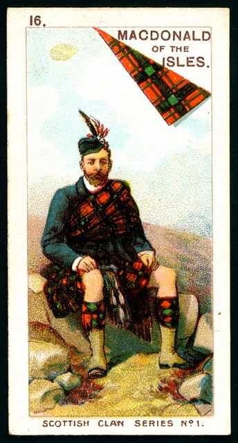 Cigarette Card - MacDonald of the Isles   Flickr - Photo Sharing!