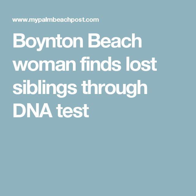 Boynton Beach woman finds lost siblings through DNA test