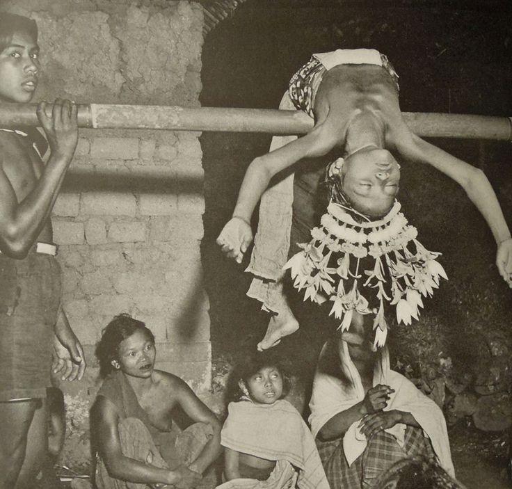 Sangyang trance dance, Bali (Bristol/1949)
