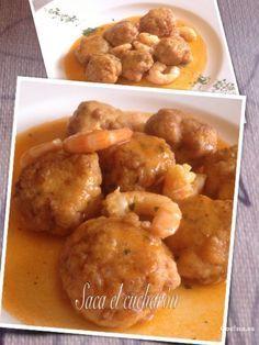 Albóndigas de merluza: http://albondigas-de-merluza.recetascomidas.com/ - #recetas #recipe