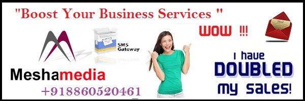 Mesha Media bulk sms gateway Provider Company in Delhi NCR.We provides sms gateway service in India for promotion of company product and services.