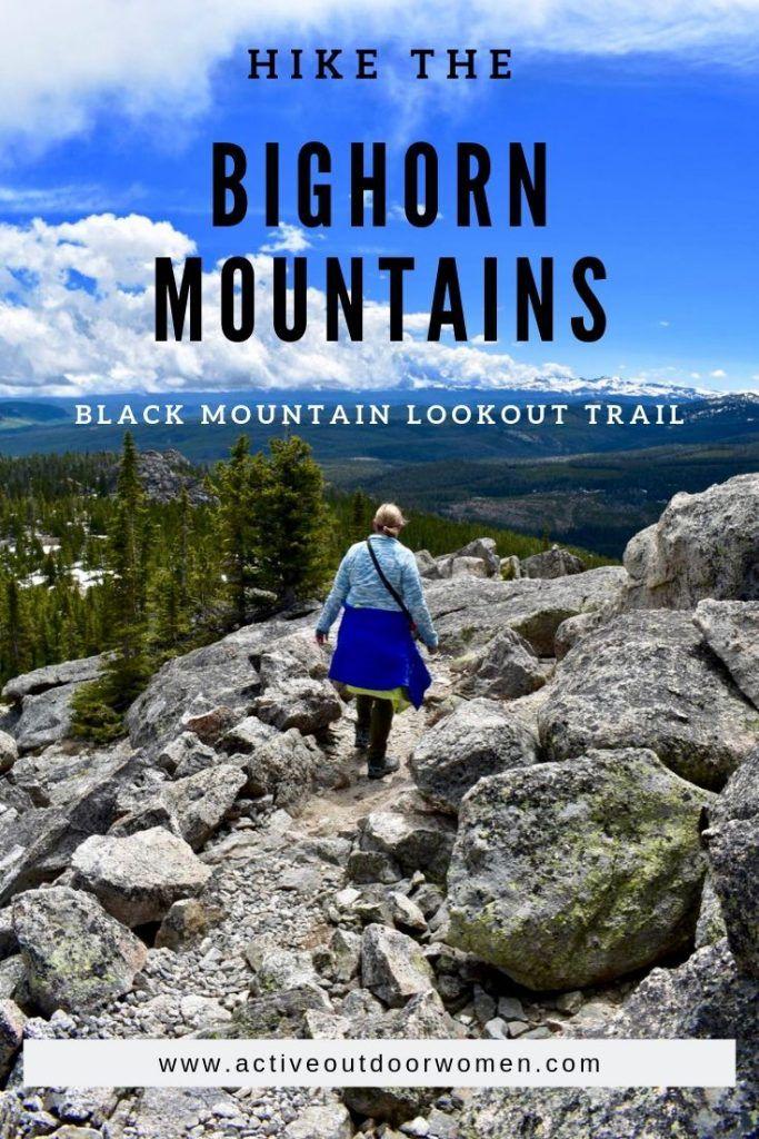 Hiking bighorn mountains wyoming bighorn mountains