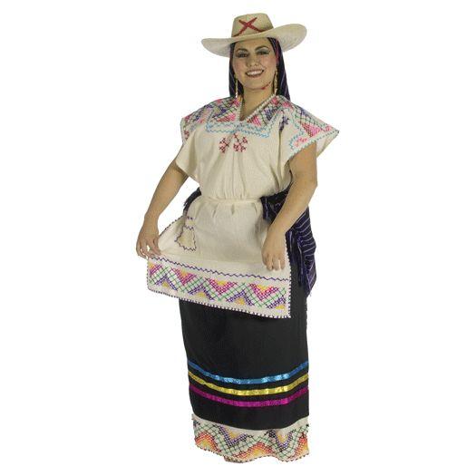 Colores vivos y fuertes forman parte de la ropa tradicional mexicana ...