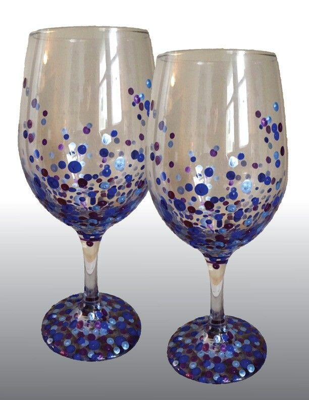 1000 images about glasses painted vinyl on pinterest for Type of paint to use on wine glasses
