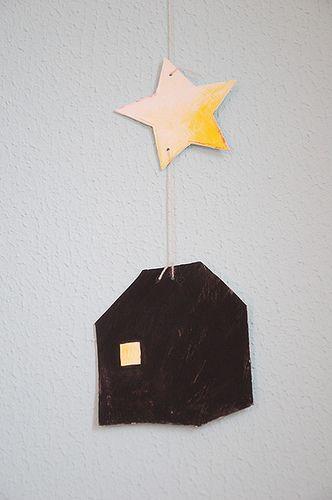 house + star