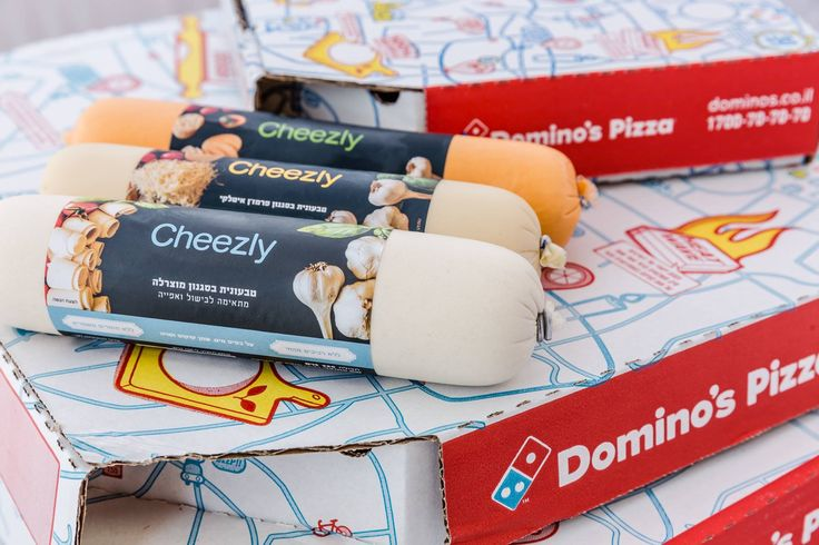 DAIRY-FREE 'CHEESE' PRODUCED IN THE UK BY ETHICAL FOOD FIRM VBITES GOES ON THE MENU AT DOMINO'S PIZZA IN ISRAEL