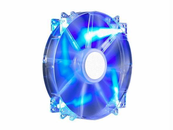 Cooler Master R4-LUS-07AB-GP MegaFlow 200 Blue LED Silent Case Fan