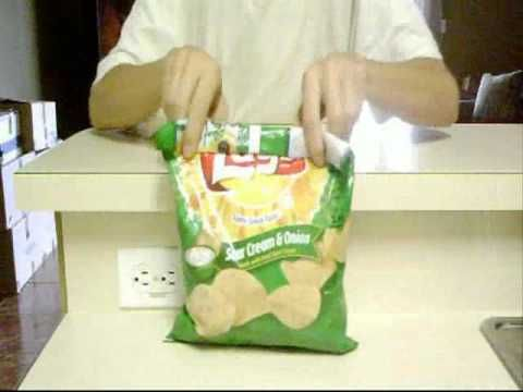 How To Close a Bag Without Using a Bag Clip!