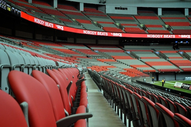 BC Place Pre-Game Tour by @miss604, via Flickr