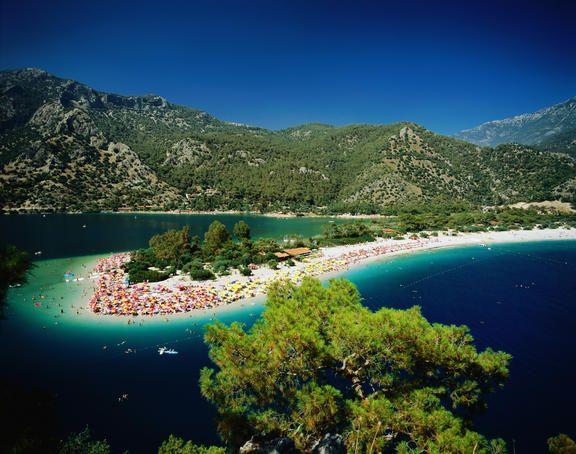 Clear blue waters, Fethiye, Turkey