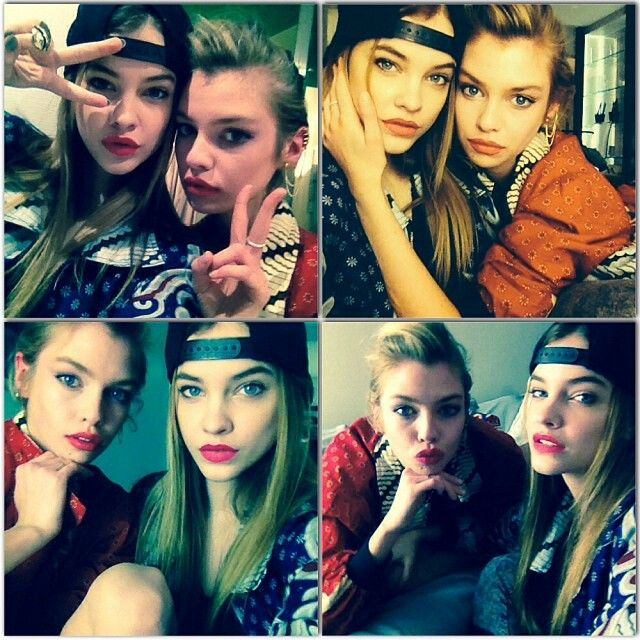 barbara palvin and stella maxwell victoria s secret