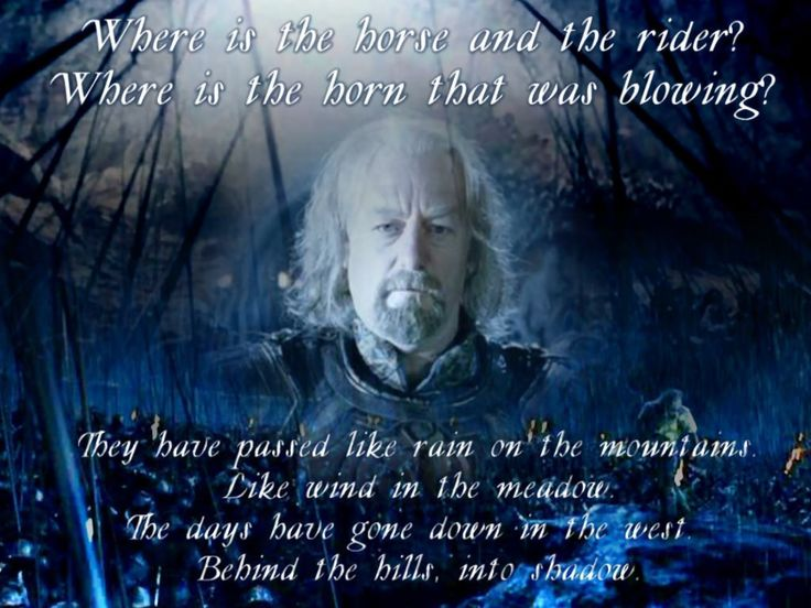 Lord Of The Rings Light The Beacons Quote