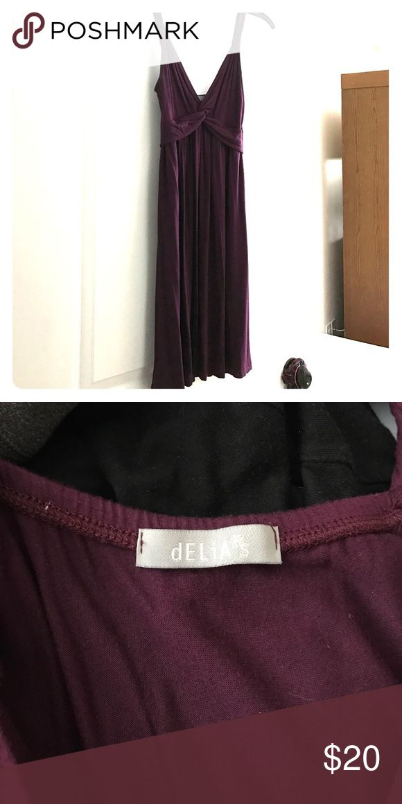 Plum Delias dress 💜 Plum dress from Delia's, I've only worn a couple times, I lost weight and now it's too big for me :( Delia's Dresses