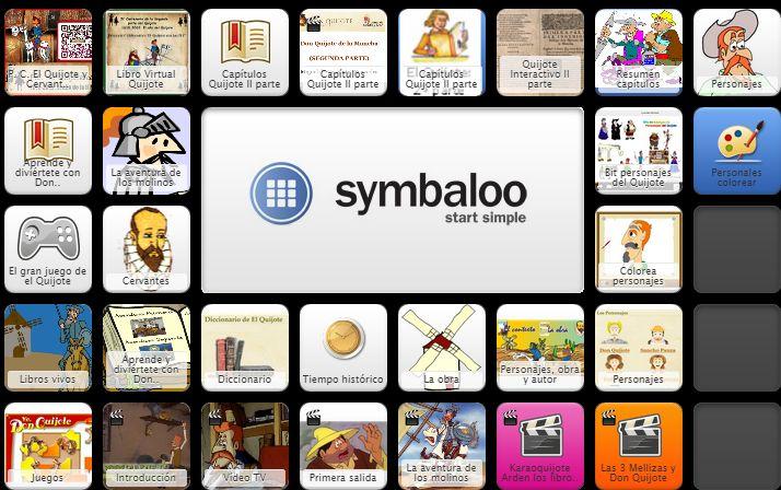 symbaloo el quijote - Buscar con Google