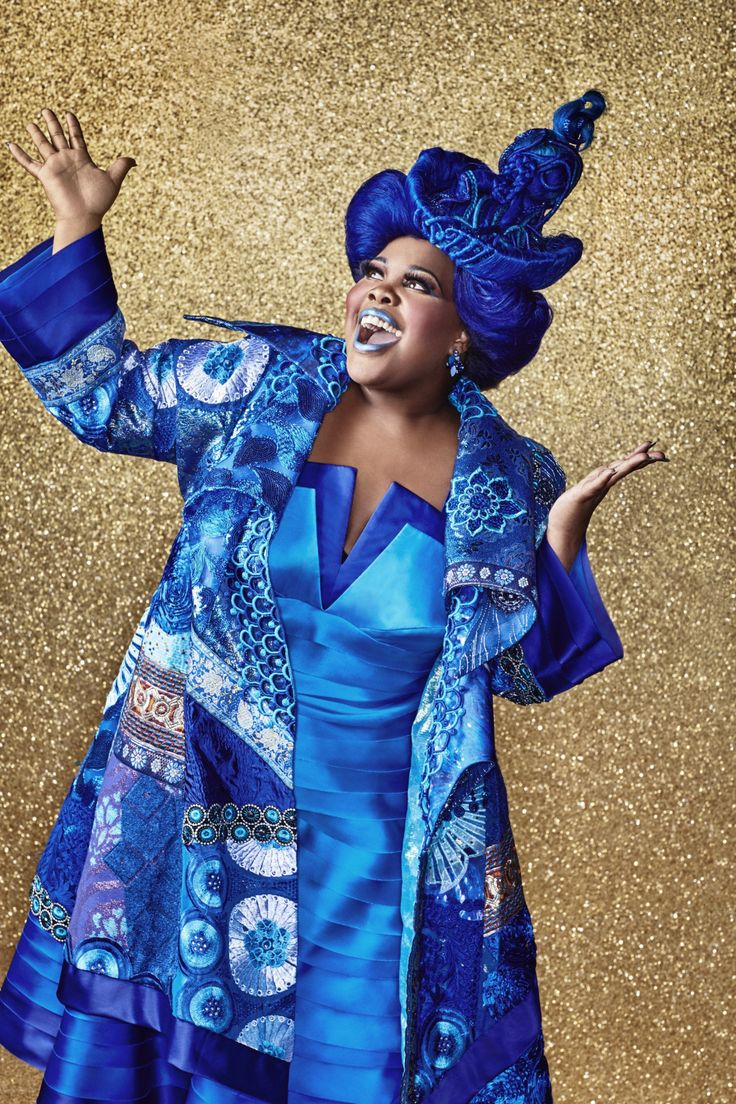 Amber Riley as Addapearle in The Wiz Live!