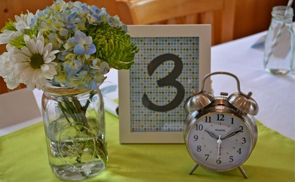 Around the Clock Baby Shower decor and gift ideas from BabyShower.com!