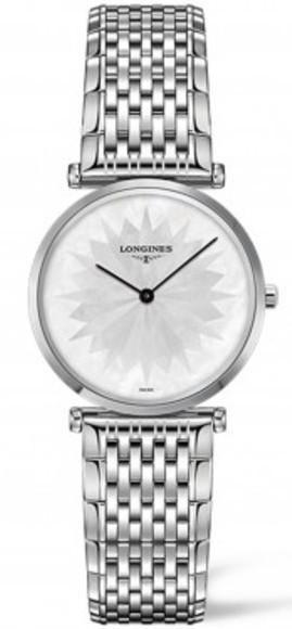 Longines Watch La Grande Classique de Longines Ladies #bezel-fixed #bracelet-strap-steel #brand-longines #buckle-type-deployment #case-material-steel #case-width-29mm #delivery-timescale-1-2-weeks #description-done #dial-colour-white #discount-code-allow #l45124056 #luxury #movement-quartz-battery #official-stockist-for-longines-watches #packaging-longines-watch-packaging #subcat-la-grande-classique-de-longines #supplier-model-no-l4-512-4-05-6 #warranty-longines-official-2-year-guarantee