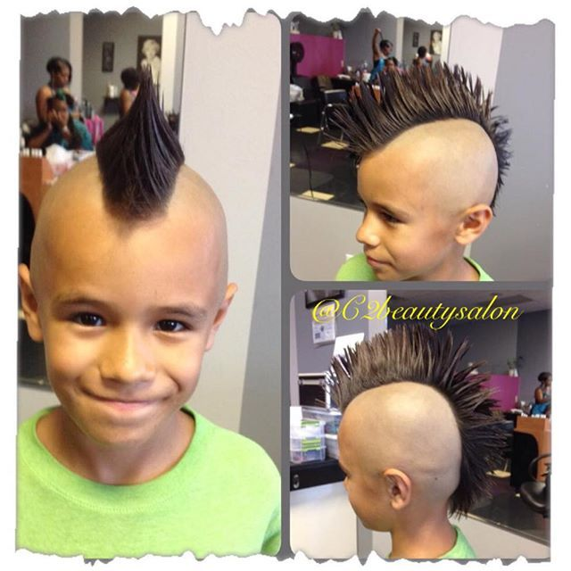 how to cut baby boy hair mohawk