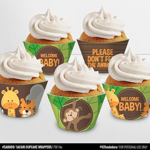 Best 25+ Jungle Theme Baby Shower Ideas On Pinterest