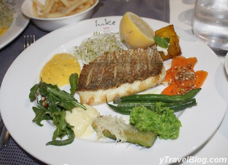 Grilled Snapper on board P & O Pacific Dawn: http://www.ytravelblog.com/memorable-moments-on-the-p-o-pacific-dawn/