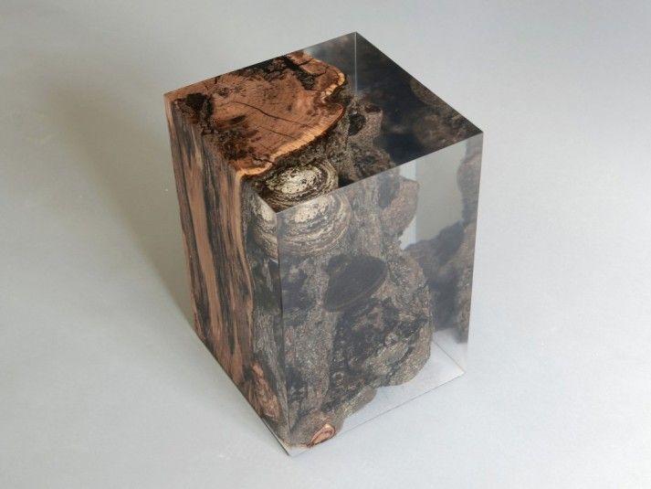 Fungi Stool - single resin cast www.alcarol.com