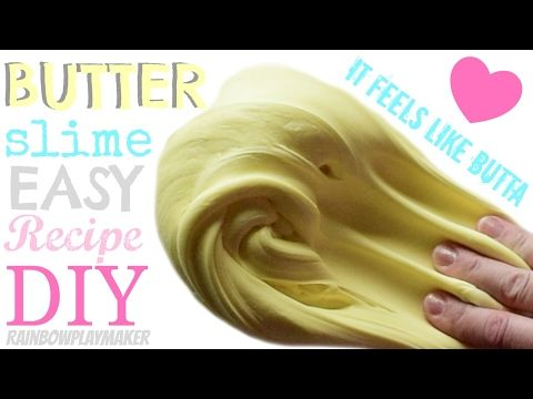 DIY CUTE LIFE HACKS BUTTER SLIME RECIPE with Cornstarch!!! How to make Tutorial! - YouTube