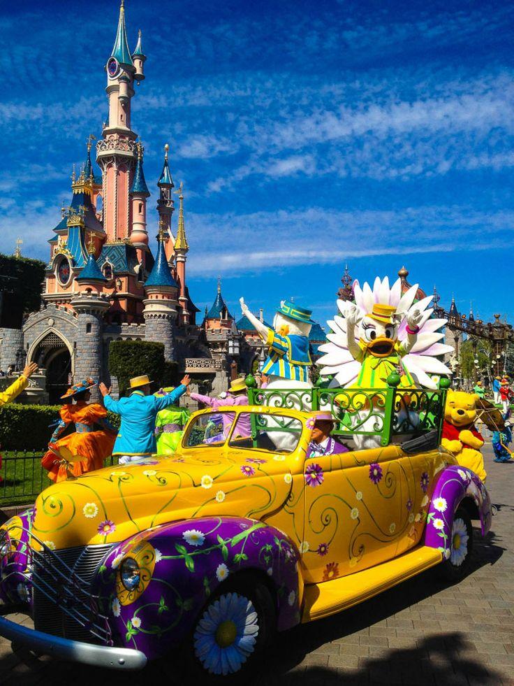 Donald and Daisy Swing into Spring at Disneyland Paris