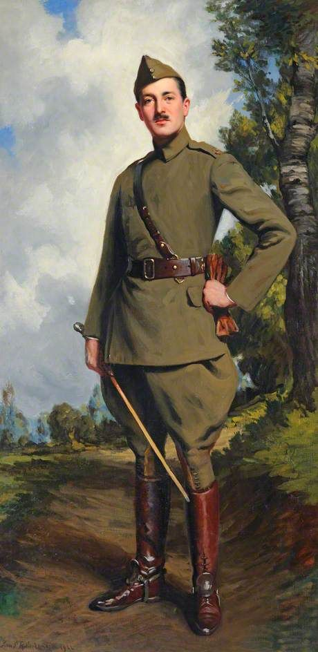 4th Baron Garvagh of County Londonderry (1878–1956) by John Saint-Helier Lander Date painted: 1922