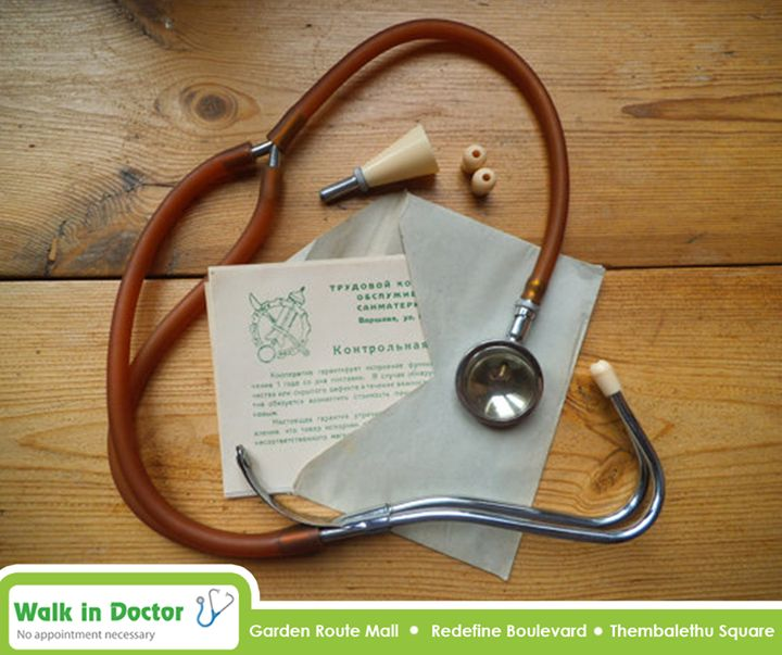 #ThrowBackThursday: This is the type of vintage stethoscope that was used by doctors in the early 1960's. #WalkInDoctor