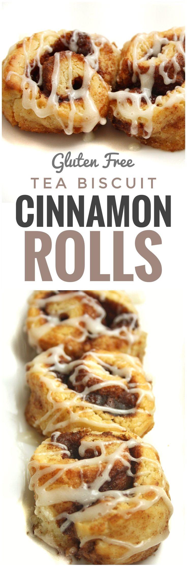 Tea Biscuit Cinnamon Rolls Gluten Free