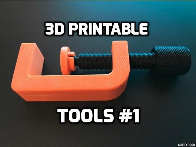 Everyday We struggle to Find What to Print on our beloved 3D Printers. Well now you have a list on 3D Printable Tools.
