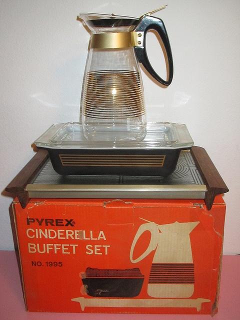 Pyrex Cinderella Buffet Set. Smooth :)