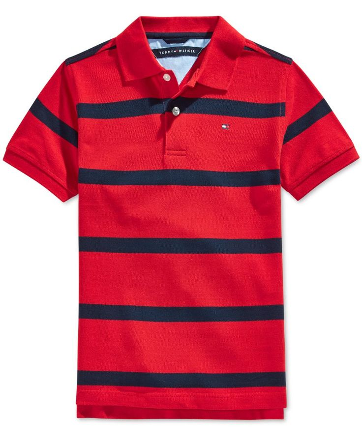 Tommy Hilfiger Boys' Clubhouse Stripe Polo