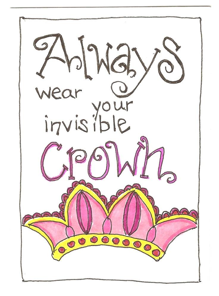 Die besten 25 unsichtbare krone ideen auf pinterest selbstvertrauen zitate sch nheit zitate - Englisch krone ...