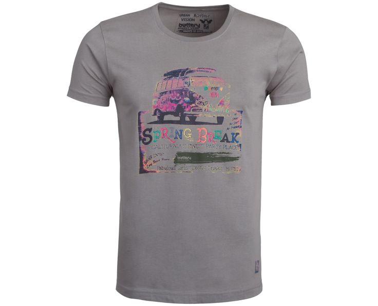 """Ανδρική Μπλούζα T-Shirt """"GeoTam"""" σε χρώματα 100% Βαμβάκι"""