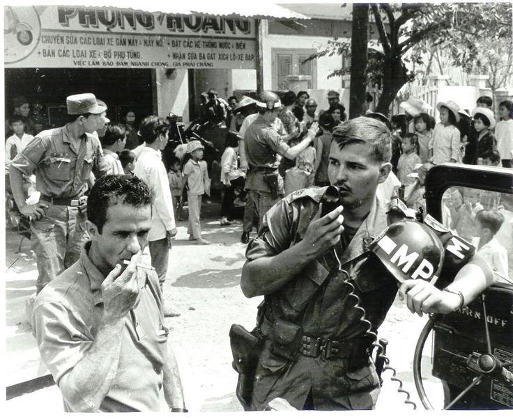 1969 Qui Nhon 18th MP Brigade 127th MP Company. My uncle.