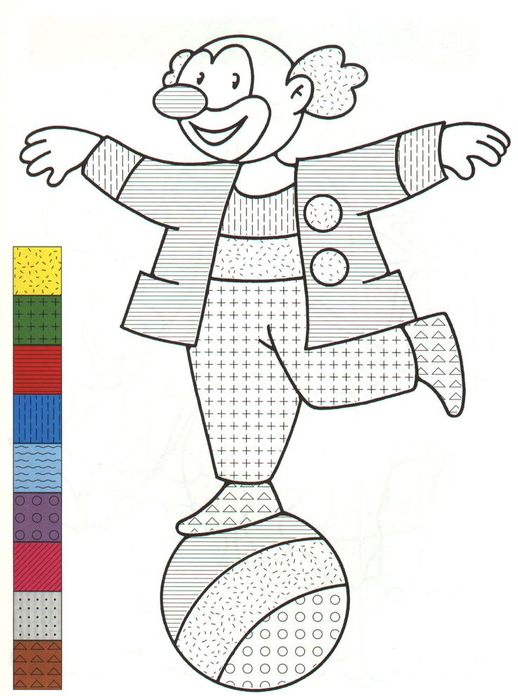 color pattern 999 coloring pages
