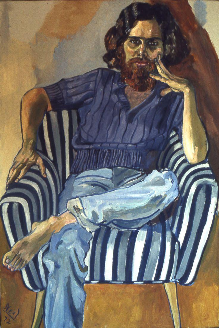 Watercolor artists directory wiki - Beardtoken Alice Neel Was An American Artist Known For Her Oil On Canvas Portraits