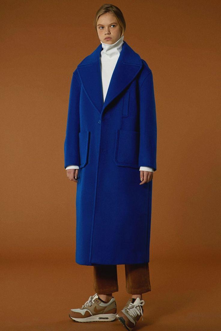 [BLUE] fw15 collection Oversize drop coat  #ader#adererror#blue