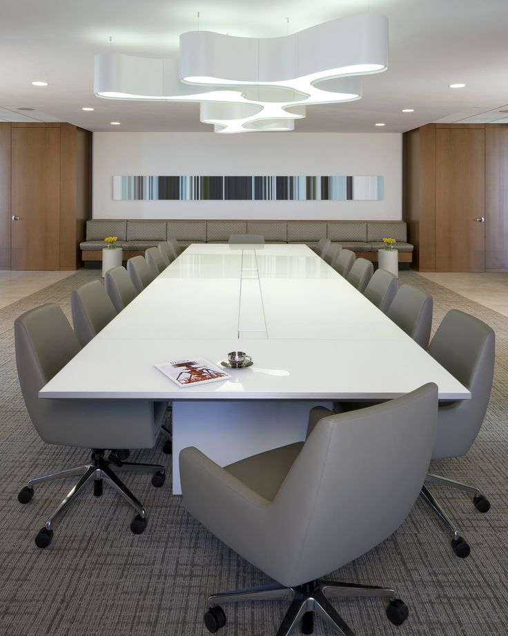 Tavola Glass Conference Table
