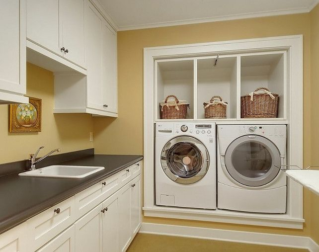Built-in waster/dryer