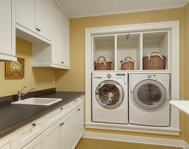Laundry Room Cabinet Design