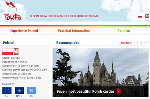 Two attractive internet domains - Polska.pl and Poland.pl - will serve to promote Poland under an agreement between the Research and Academic Computer Network (NASK) and the Ministry of Foreign Affairs.